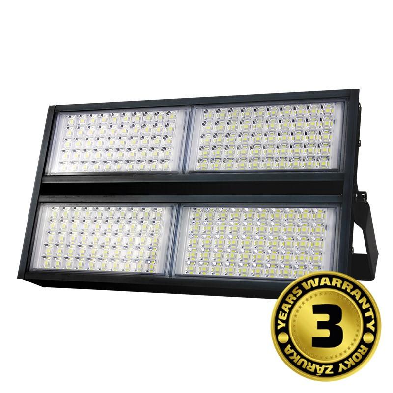 Solight LED venkovní reflektor Pro+, 200W, 22000lm, 5000K, AC 230V, černá