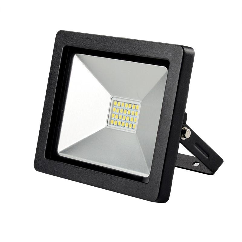Solight LED venkovní reflektor SLIM, 30W, 2100lm, 3000K, černá