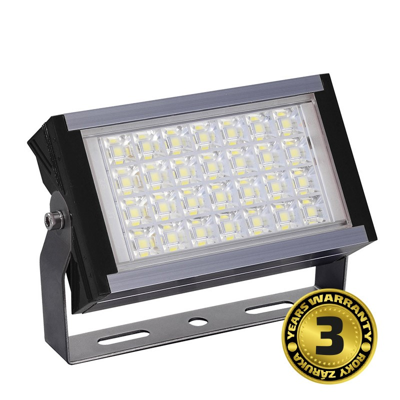 Solight LED venkovní reflektor Pro+, 50W, 5500lm, AC 230V, černá