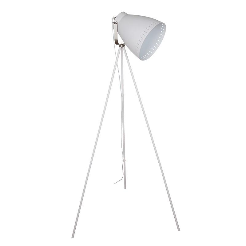 Solight stojací lampa Torino, trojnožka, 145cm, E27, bílá