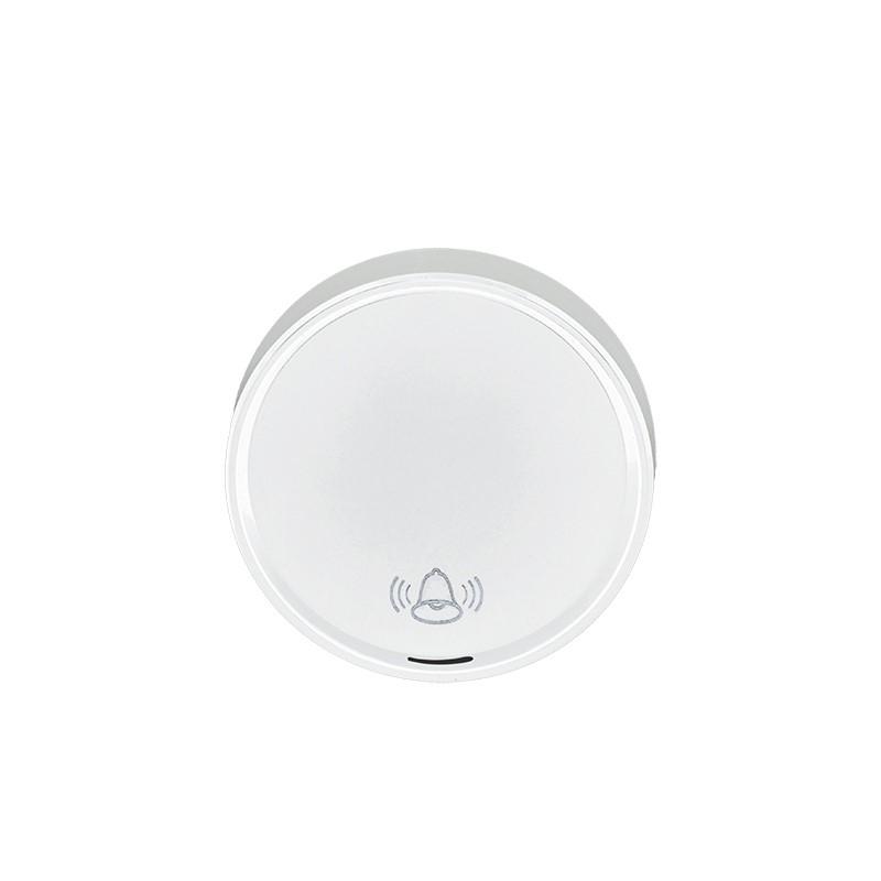 Solight bezdrátové tlačítko pro 1L59, 120m, bílé, learning code