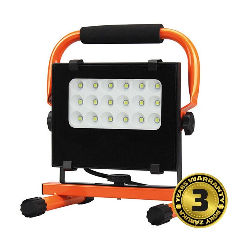 Solight LED venkovní reflektor se stojanem, 20W, 1700lm, 5000K,  kabel se zástrčkou, AC 230V