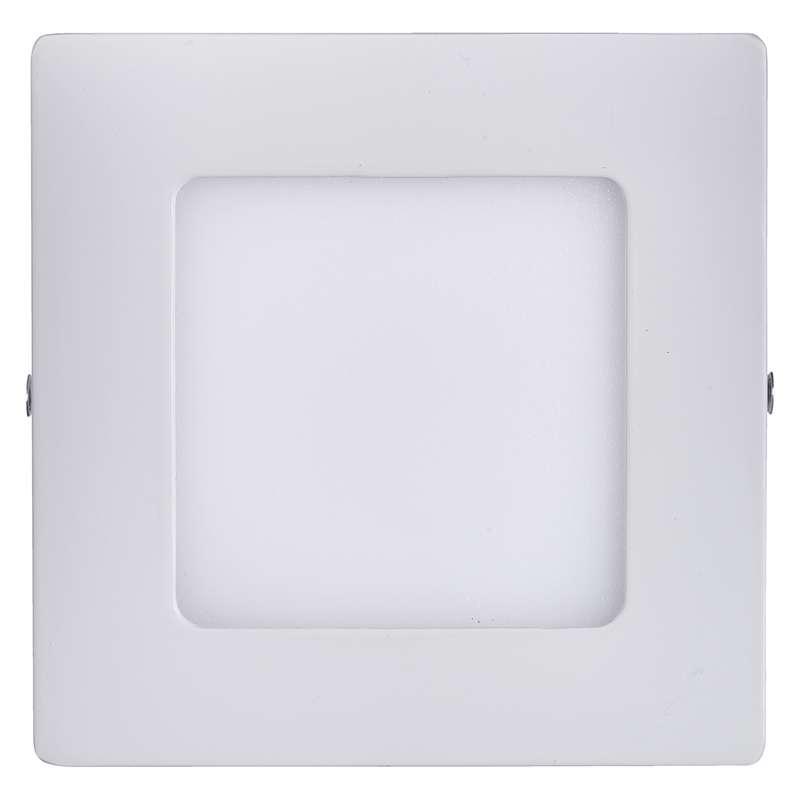 LED panel 120×120, přisazený bílý, 6W neutrální bílá