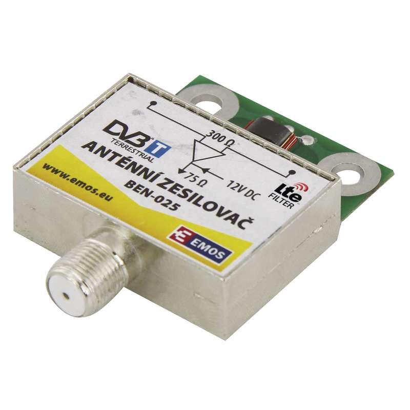 Anténní předzesilovač 25dB VHF/UHF