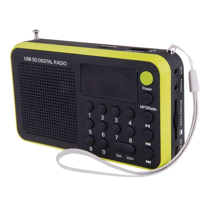 Rádio EMOS 1505W, žlutá