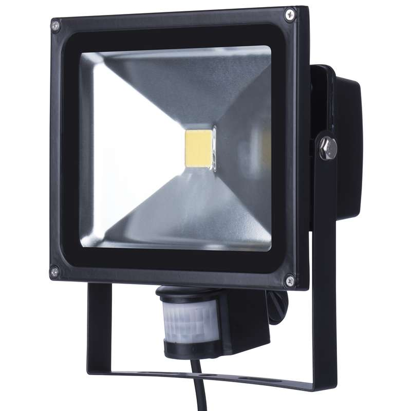LED reflektor HOBBY s PIR, 30W neutrální bílá