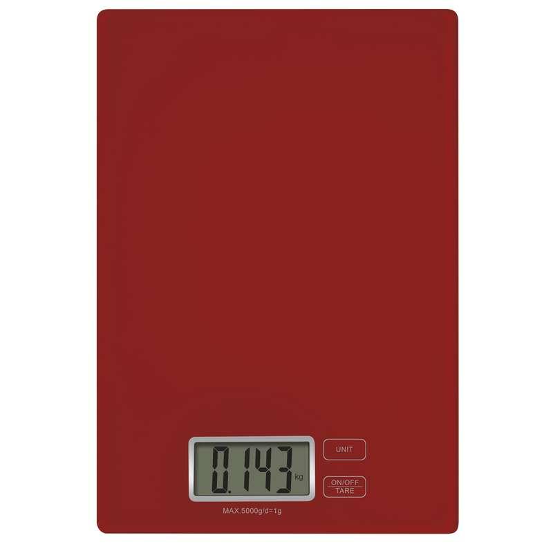 Digitální kuchyňská váha EV003 červená