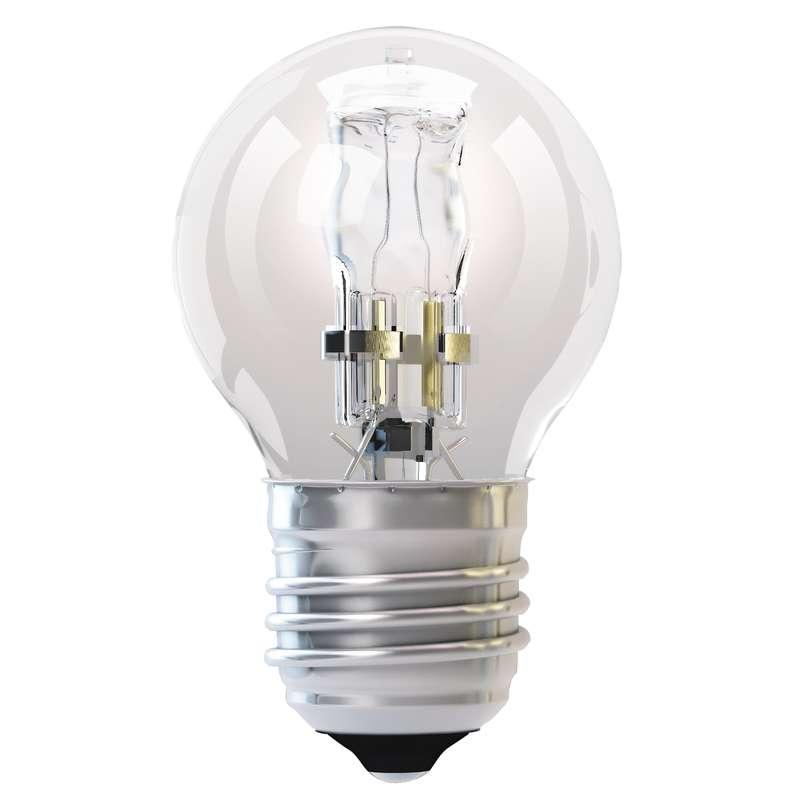 Halogenová žárovka ECO Mini Globe 18W E27 teplá bílá, stmív.