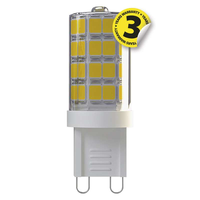 LED žárovka Classic JC A++ 3,5W G9 studená bílá