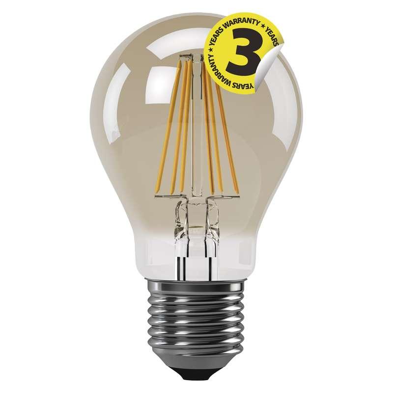 LED žárovka Vintage A60 4W E27 teplá bílá+