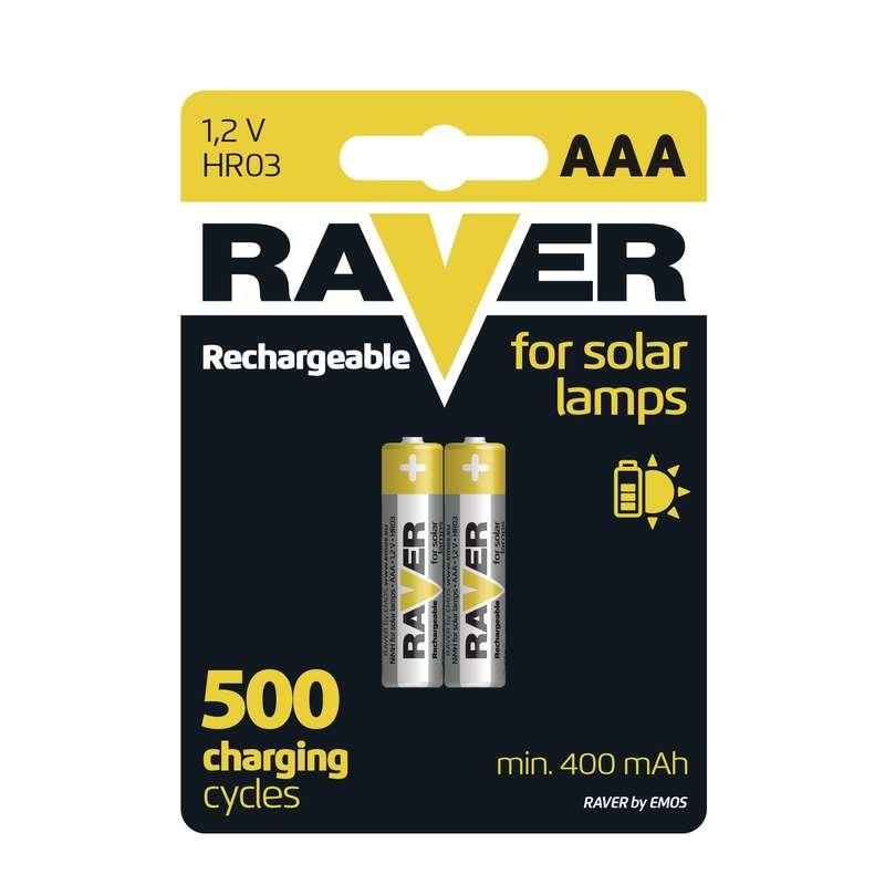Nabíjecí baterie RAVER HR03 (AAA), blistr