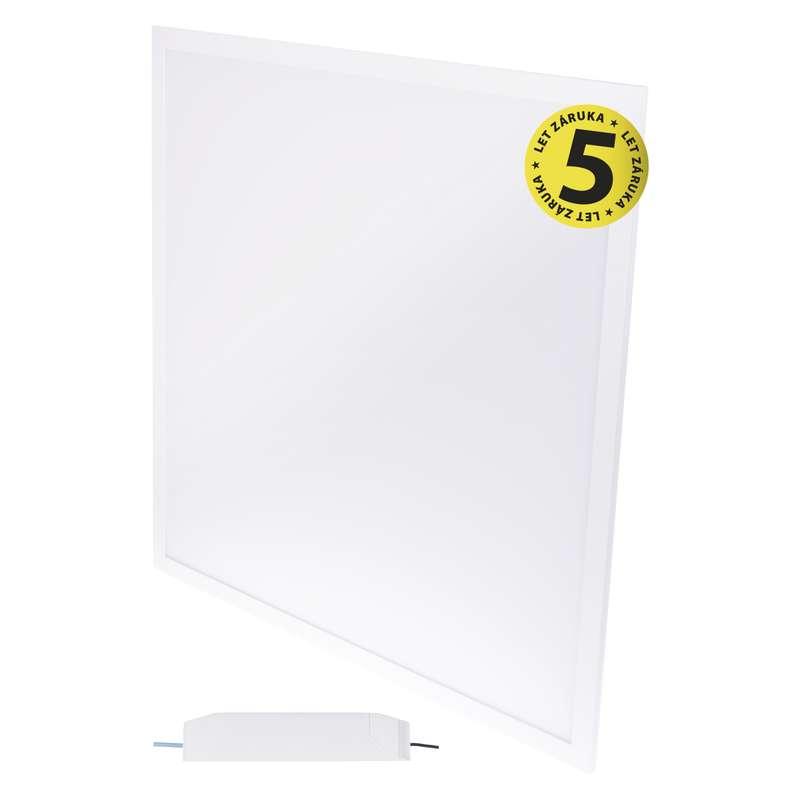LED panel 60×60, vestavný bílý, 40W neutrální bílá