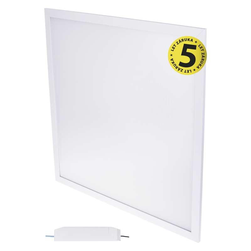 LED panel 60×60, vestavný bílý, 40W neutrální bílá UGR