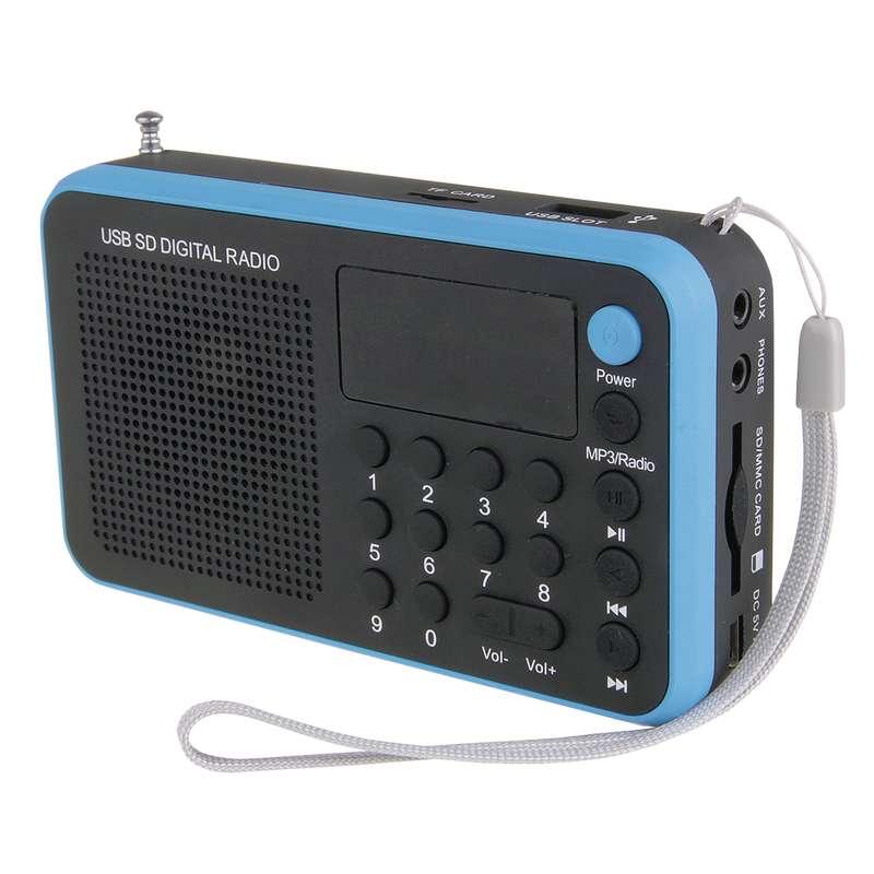 Rádio EMOS 1505W, modrá