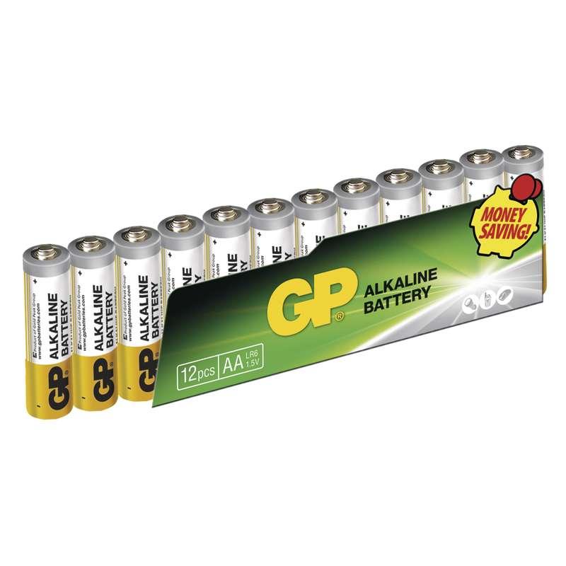 Alkalická baterie GP Alkaline LR6 (AA) fólie
