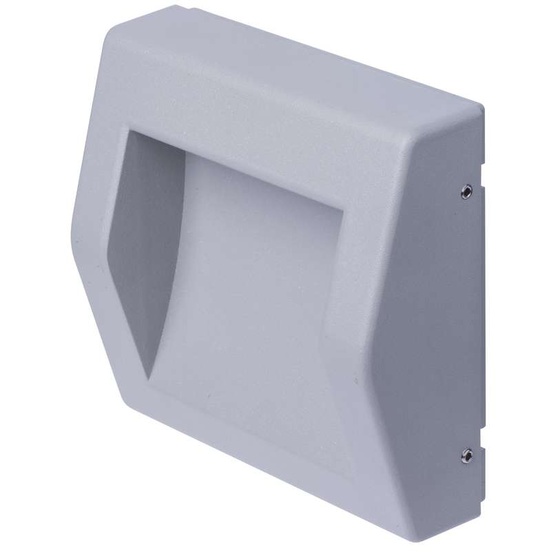 LED orientační přisazené svítidlo, čtv. 6W teplá bílá IP54