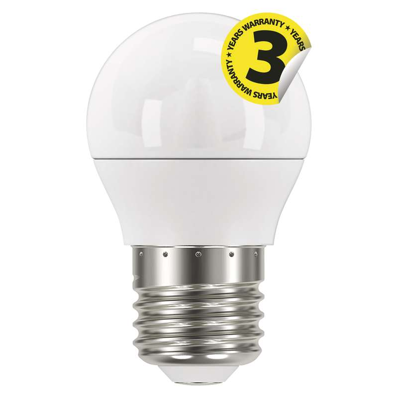 LED žárovka Classic Mini Globe 6W E27 studená bílá