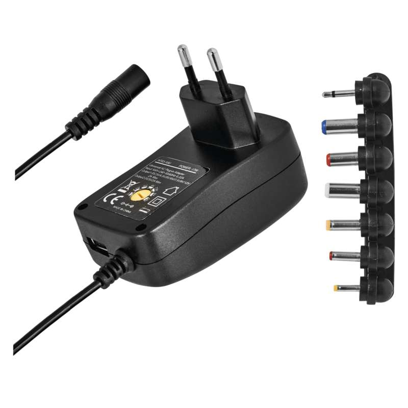 Univerzální pulzní napájecí zdroj 1500mA s hřebínkem, USB