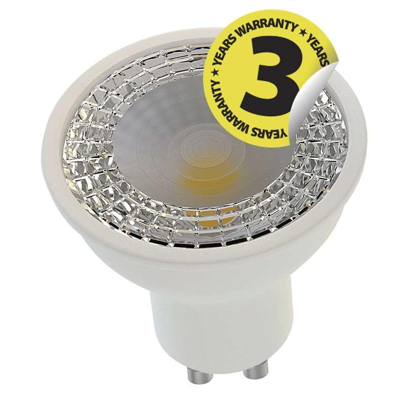 LED žárovka Classic MR16 60° 7,5W GU10 teplá bílá, stmív.