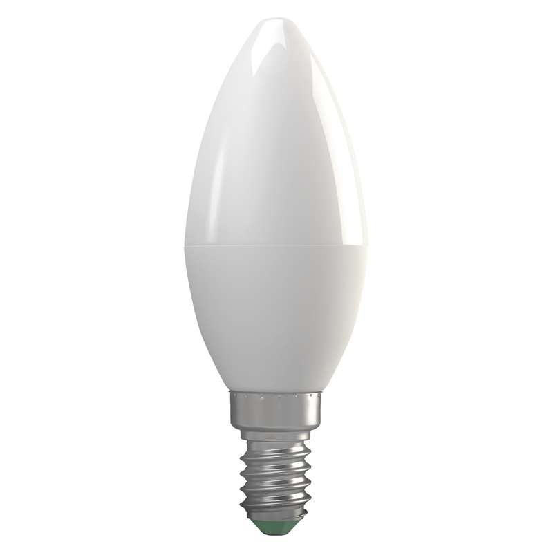 LED žárovka Candle 8W E14 teplá bílá