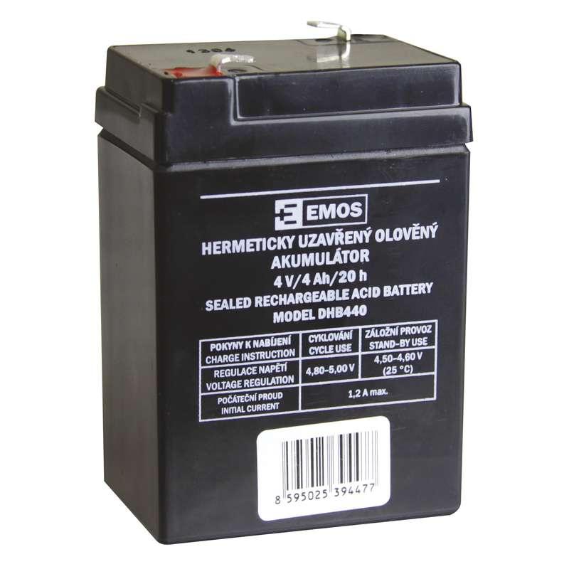 Bezúdržbový olověný akumulátor DHB440 pro svítilny P2306-7