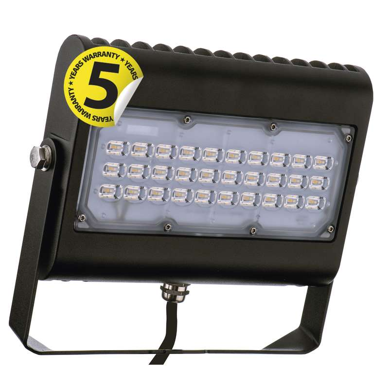 LED reflektor PROFI PLUS 50W neutrální bílá, černý