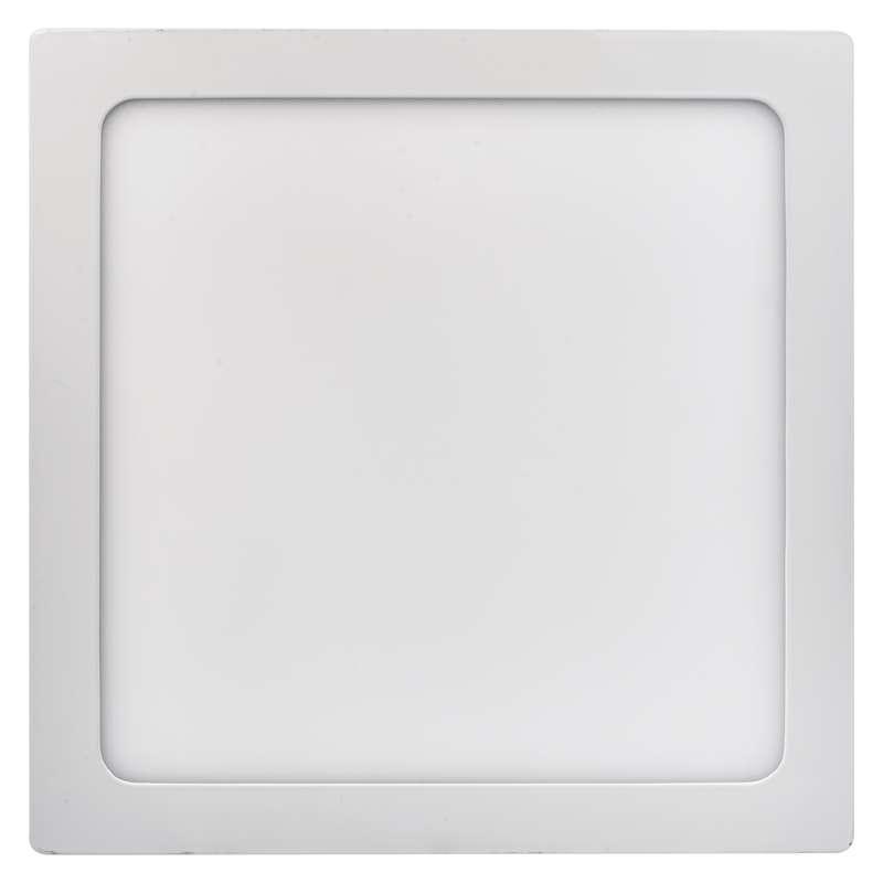 LED panel 300×300, přisazený bílý, 24W teplá bílá