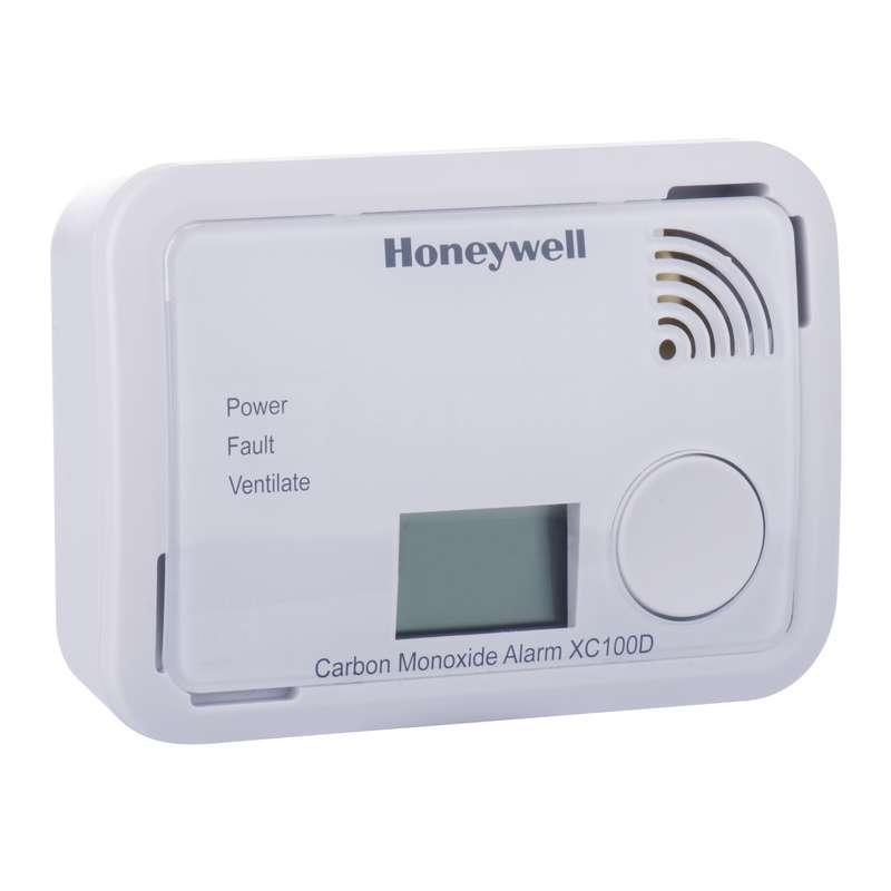 Detektor oxidu uhelnatého v místnosti Honeywell XC100D
