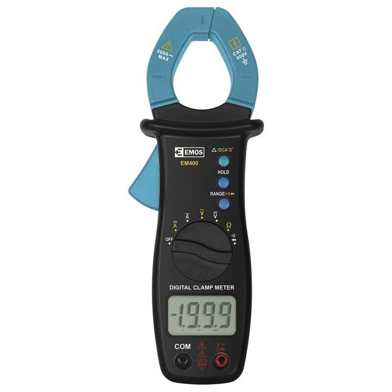 Měřící přístroj - multimetr klešťový EM400