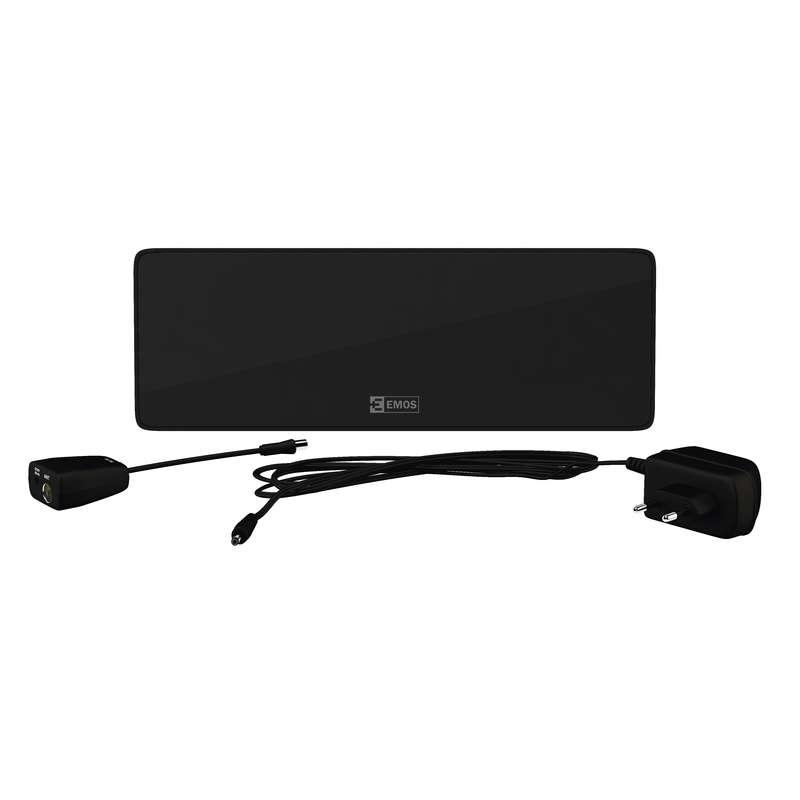 EMOS HD-101N pokojová anténa 44 dBi LTE/4G filtr