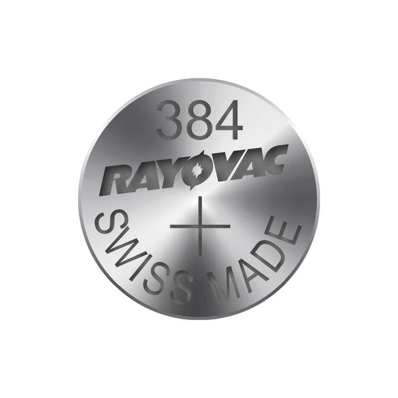 Knoflíková baterie do hodinek RAYOVAC 384 blistr