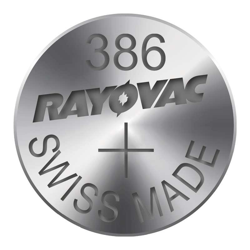 Knoflíková baterie do hodinek RAYOVAC 386 blistr