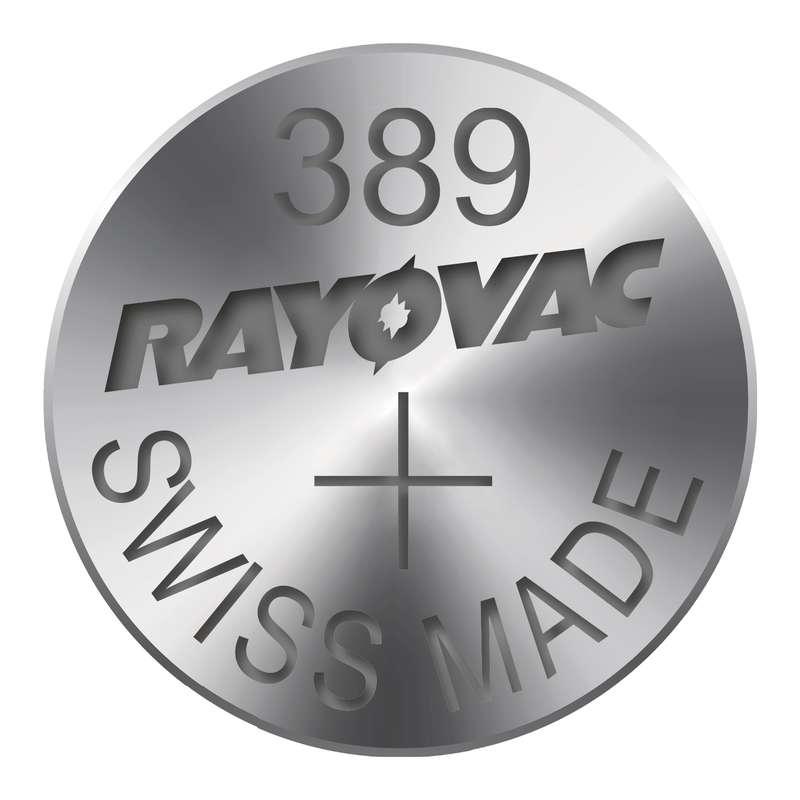 Knoflíková baterie do hodinek RAYOVAC 389 blistr