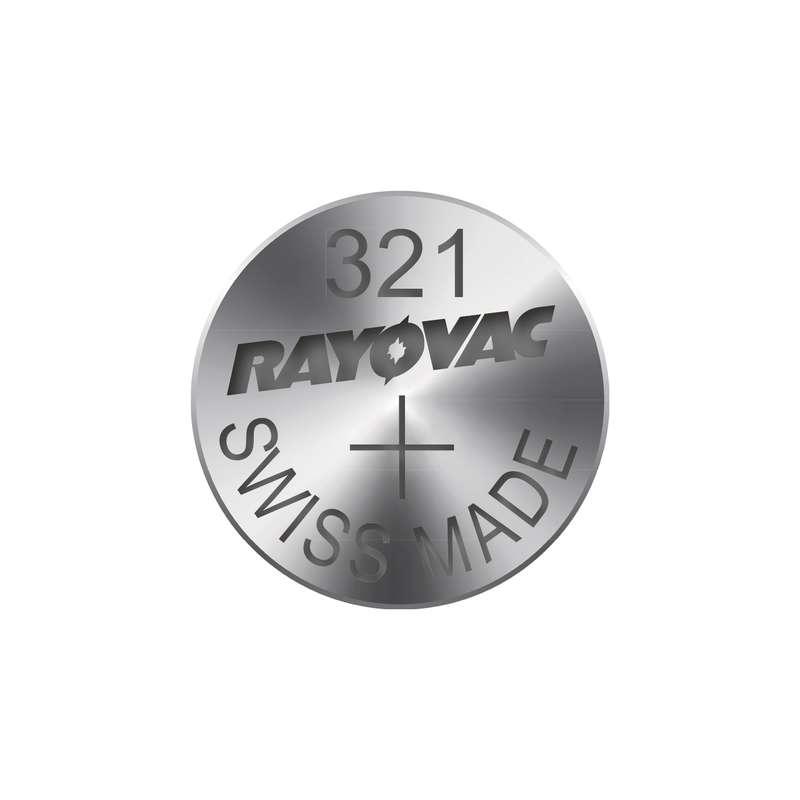 Knoflíková baterie do hodinek RAYOVAC 321 blistr