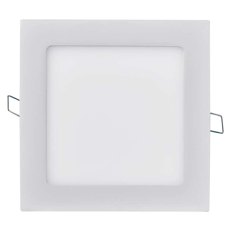 LED panel 170×170, čtvercový vestavný bílý, 12W neutrální b.
