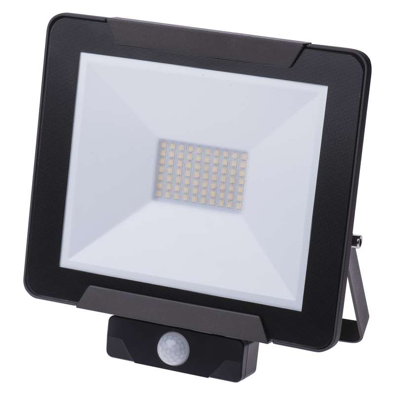 LED reflektor IDEO s PIR, 50W neutrální bílá