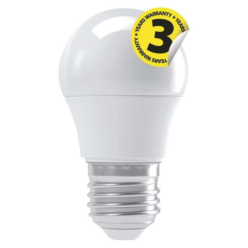 LED žárovka Classic Mini Globe 4W E27 teplá bílá