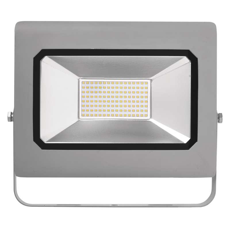 LED reflektor PROFI, 100W neutrální bílá, šedý