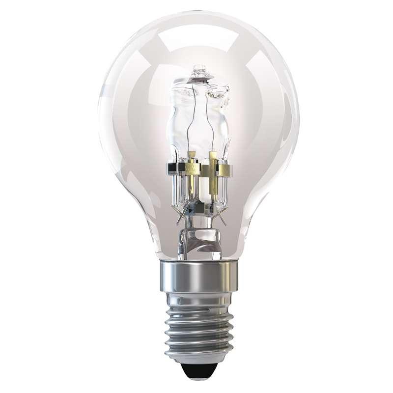 Halogenová žárovka ECO Mini Globe 42W E14 teplá bílá, stmív.