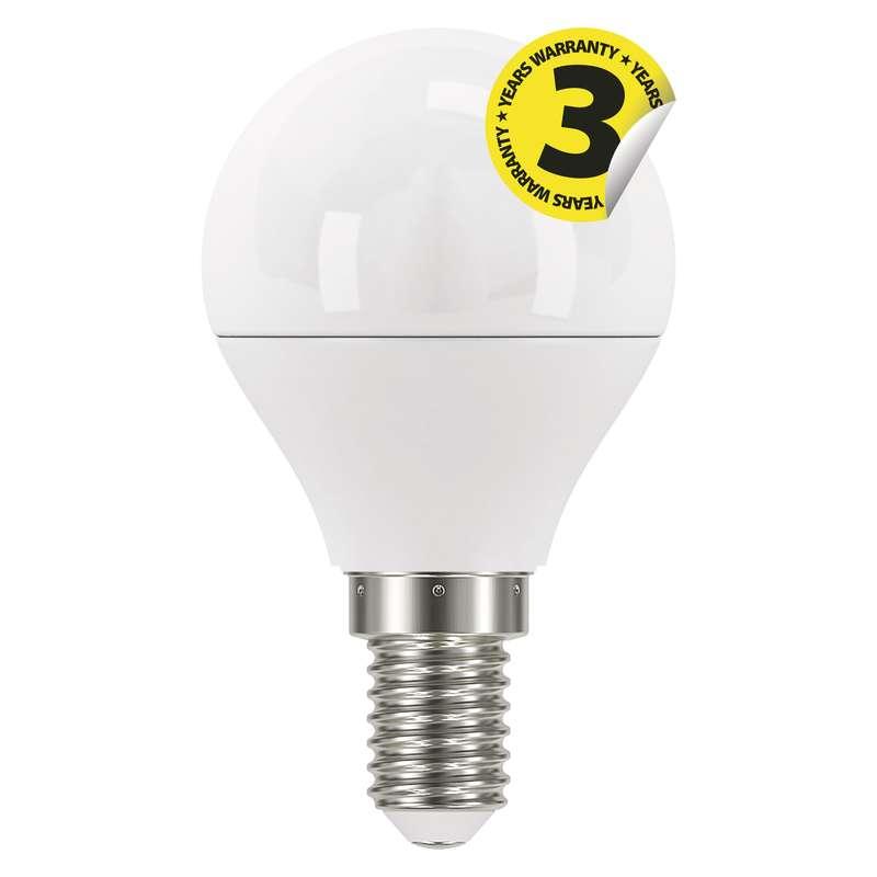 LED žárovka Classic Mini Globe 6W E14 teplá bílá