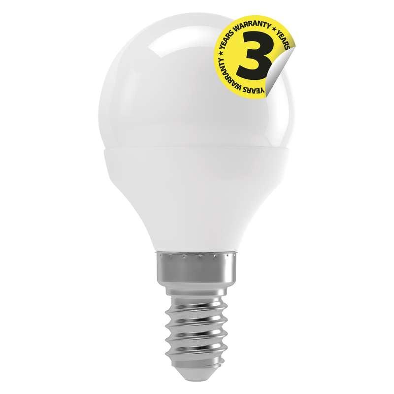 LED žárovka Classic Mini Globe 4W E14 teplá bílá
