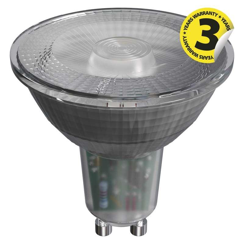 LED žárovka Classic MR16 4,2W GU10 teplá bílá