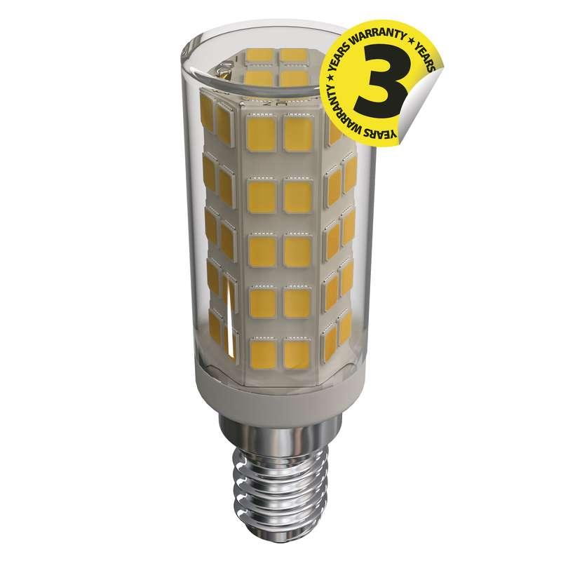 LED žárovka Classic JC A++  4,5W E14 teplá bílá