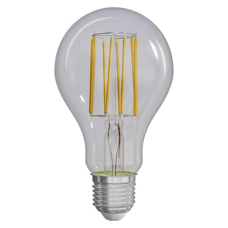 LED žárovka Filament A70 A++ 12W E27 neutrální bílá