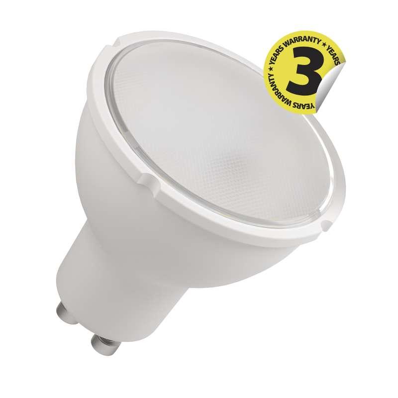 LED žárovka Classic MR16 6W GU10 teplá bílá, stmívatelná