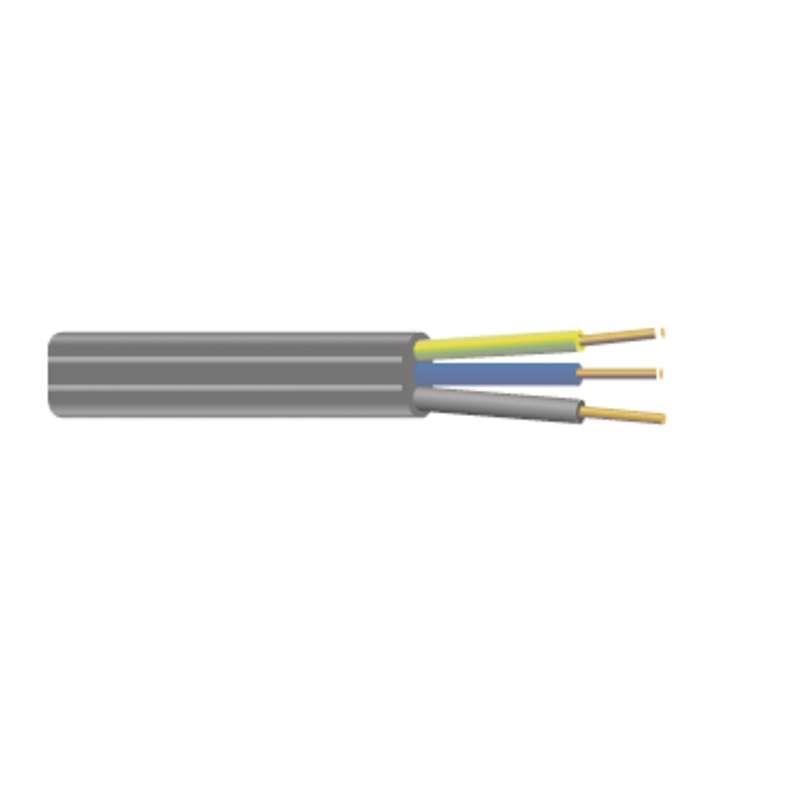 Kabel CYKYLO-J 3Cx1.5 plochý, 100m