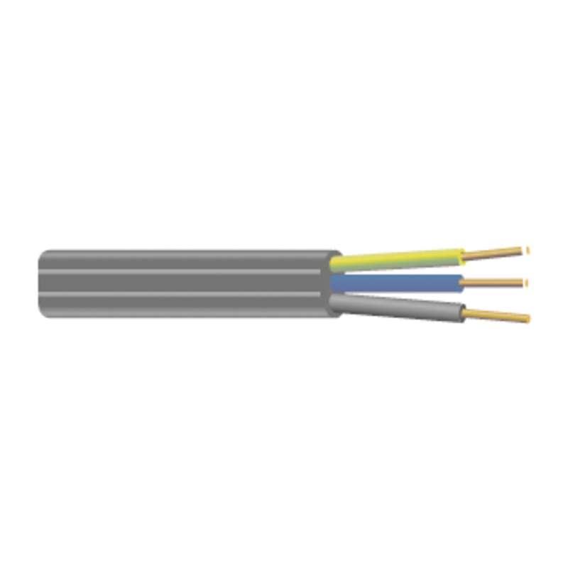 Kabel CYKYLO-J 3Cx2.5 plochý, 100m