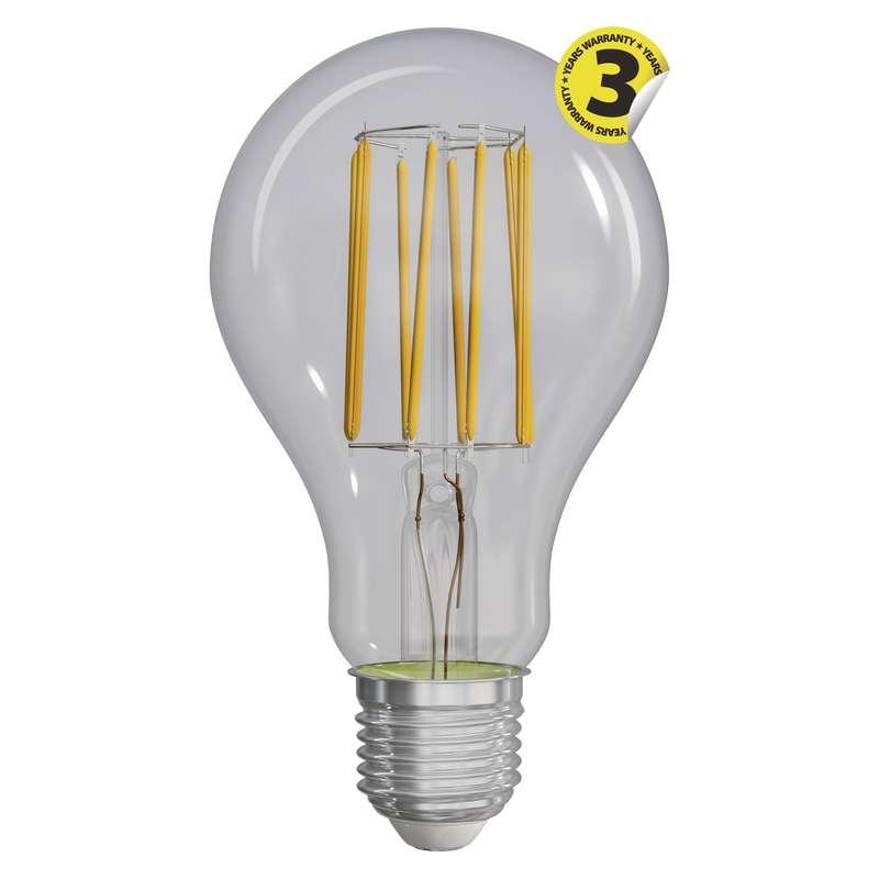 LED žárovka Filament A70 A++ 12W E27 teplá bílá