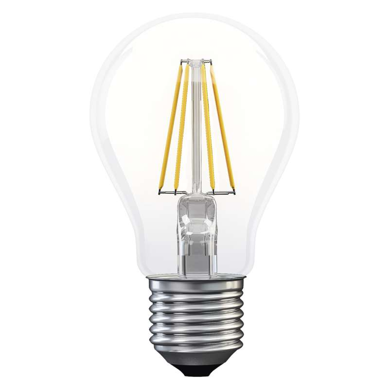 LED žárovka Filament A60 4W E27 neutrální bílá