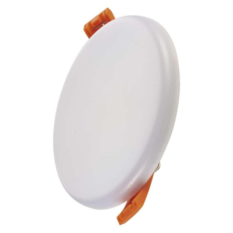 LED panel 100mm, kruhový vestavný bílý, 8W neut. bíla, IP65